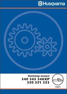 Husqvarna 345 Workshop Manual