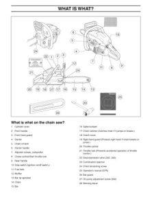 Husqvarna 350 Operators Manual
