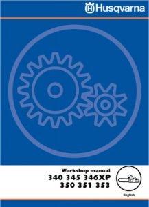 Husqvarna 350 Workshop Manual
