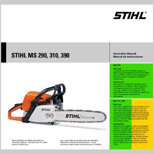 Stihl MS290 Owners Manual